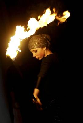 Firestaff - UKM Youth Competition (picture from article in Helsingborgs Dagblad)