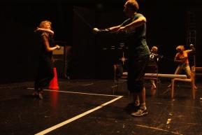 Stage combat training